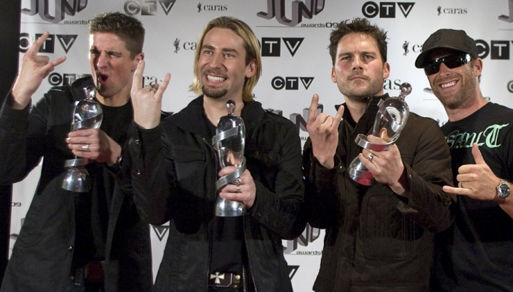 Ansambel Nickelback esineb Tallinnas