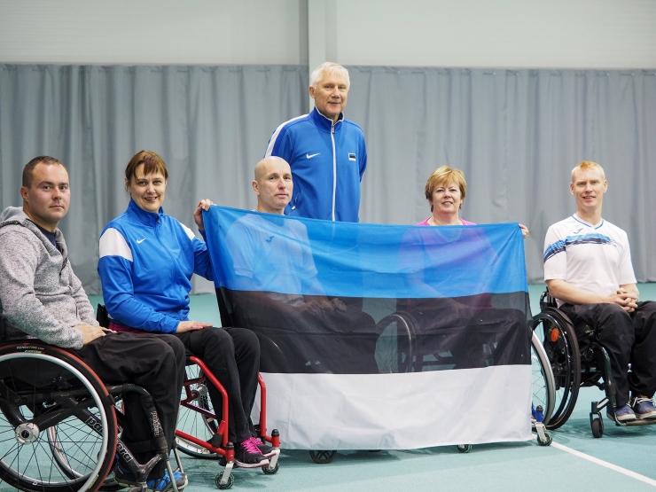 FOTOD! Ratastoolitennise Balti karikavõistluse võidu tõid koju eestlased