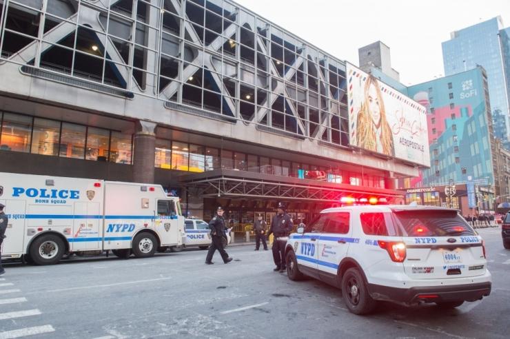 Manhattanil plahvatas torupomm, kahtlusalune on kinni peetud