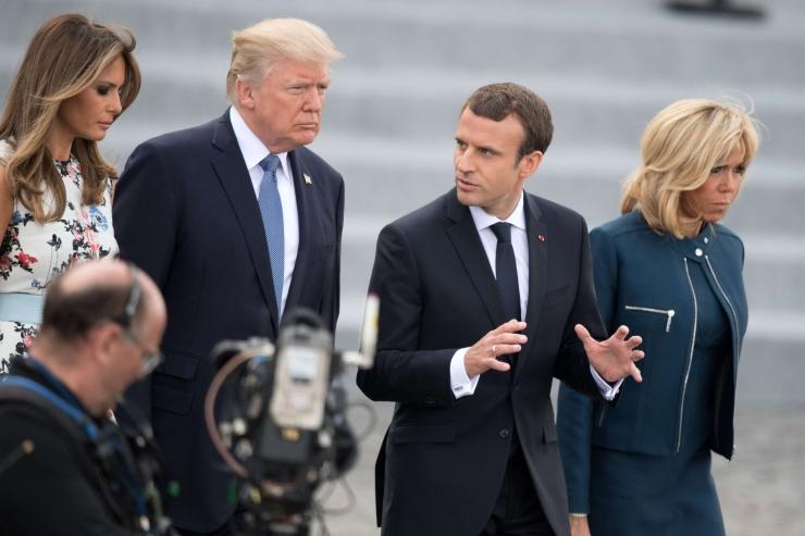 """Macron meenutas Trumpile """"vastutust ajaloo ees"""""""