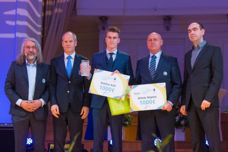 Jalgpallur Mattias Käit pälvis EOK järelkasvutiimi stipendiumi