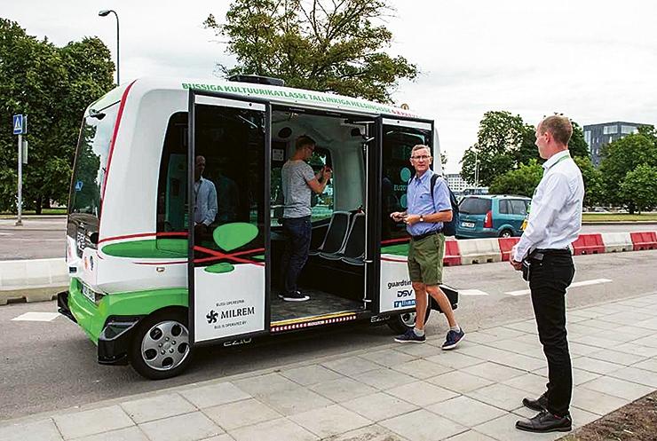 Mustamäe ja vanalinn võivad saada juhita bussid