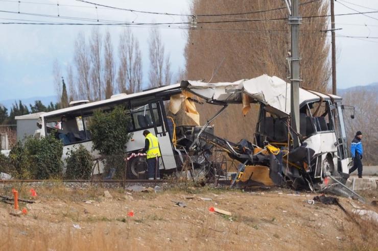 Prantsuse koolibussiõnnetuse ohvrite arv kasvas kuueni