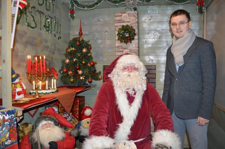 Löwenruh' pargis ootab jõuluvana laste kingisoove ja luuletusi