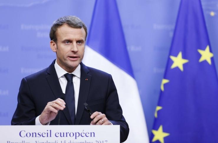 Macron: sõda IS-i vastu Süürias võidetakse veebruaris