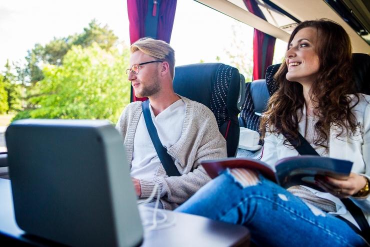 Kahe kuuga kasvas Eestis turvavöö kasutajate arv bussis 7%