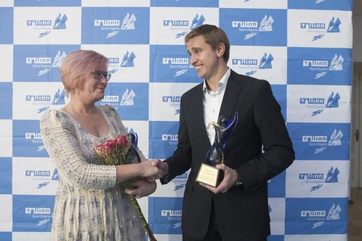 FOTOD! Tallinna parimad sportlased on vibulaskja Ülle Kell ja vehkleja Nikolai Novosjolov