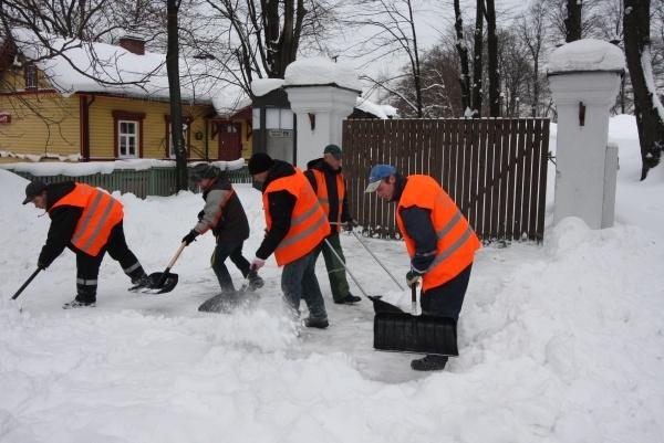 """Algab konkurss """"Tallinna linna lumemurdja"""""""