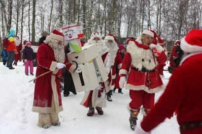 Jõuluvanad tulevad loomaaeda