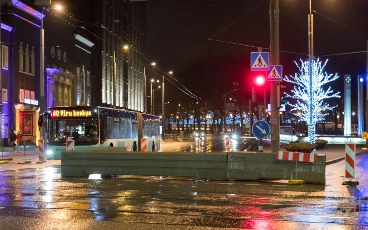 Uusaastaööl on ühistranspordil täiendavad öised väljumised