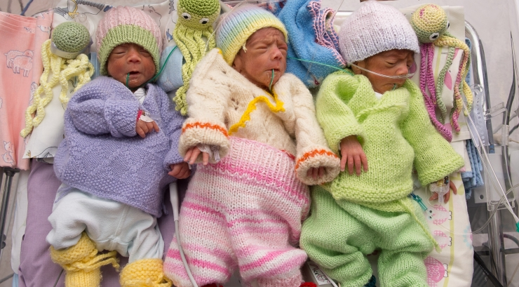 2017. aastal sündisid Keskhaigla Sünnitusmajas rekordilised mitmikud