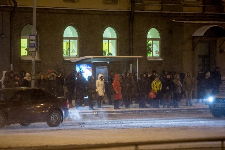 Tallinnas muutub uusaastaööl Vabaduse väljaku ümber liikluskorraldus