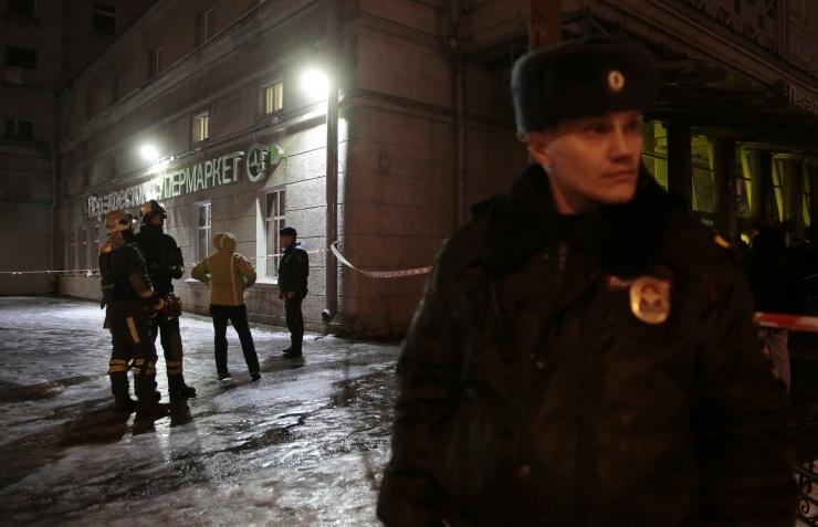 FSB: Peterburi plahvatuse korraldaja on vahistatud