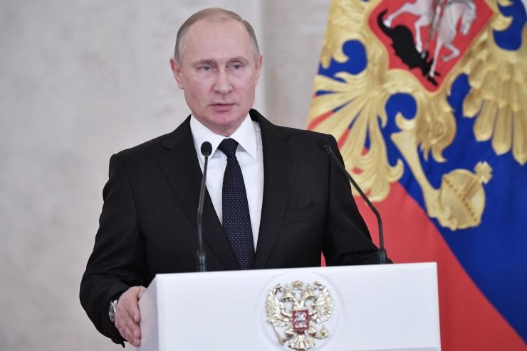 """Putin soovis venemaalastele """"muutusi paremuse poole"""" ja riigile """"rahu"""""""