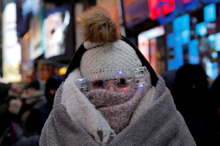 USA keskosas algas uus aasta rekordilise külmaga