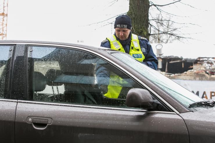 Politsei tabas ööpäevaga 38 joobes sõidukijuhti