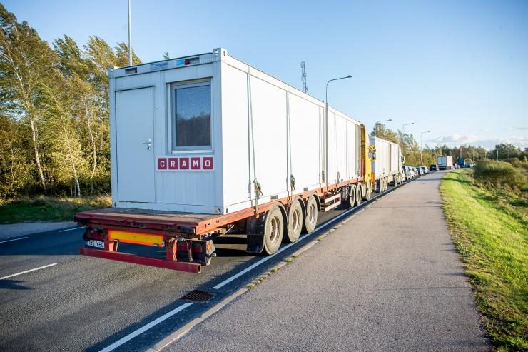 Jaanuarist kehtib üle 3,5-tonnistele veoautodele teekasutustasu