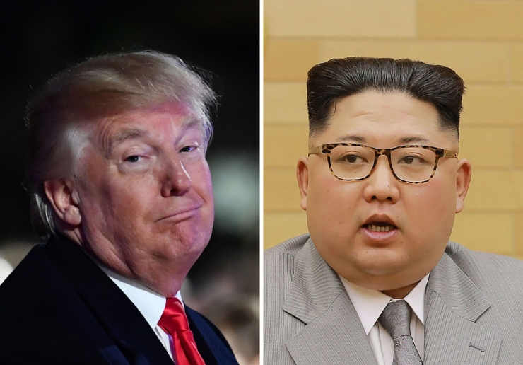 Trump Kimile: minu tuumanupp on suurem kui sinu oma