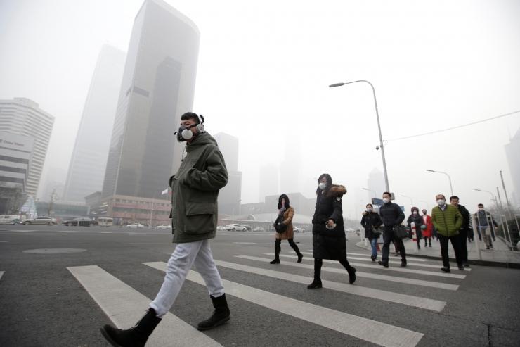 Pekingis oli mullu viimase viie aasta puhtaim õhk