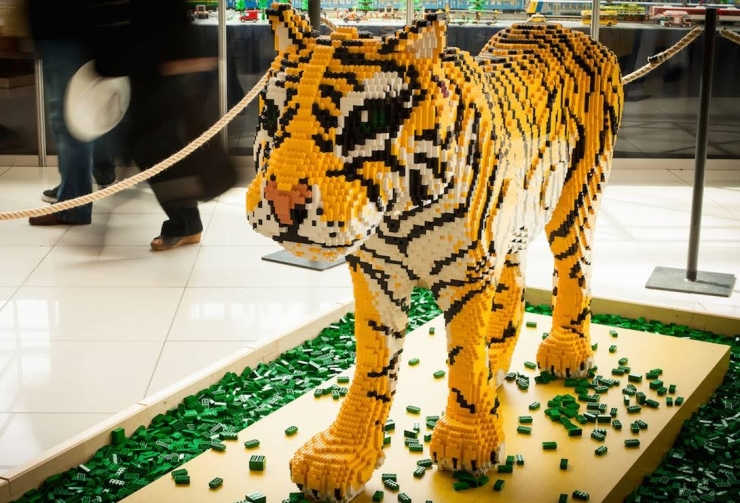 3D kujudega LEGO festival jõuab esmakordselt Eestisse