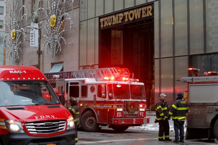 Trump Toweri küttesüsteemi põlengus sai viga kaks inimest