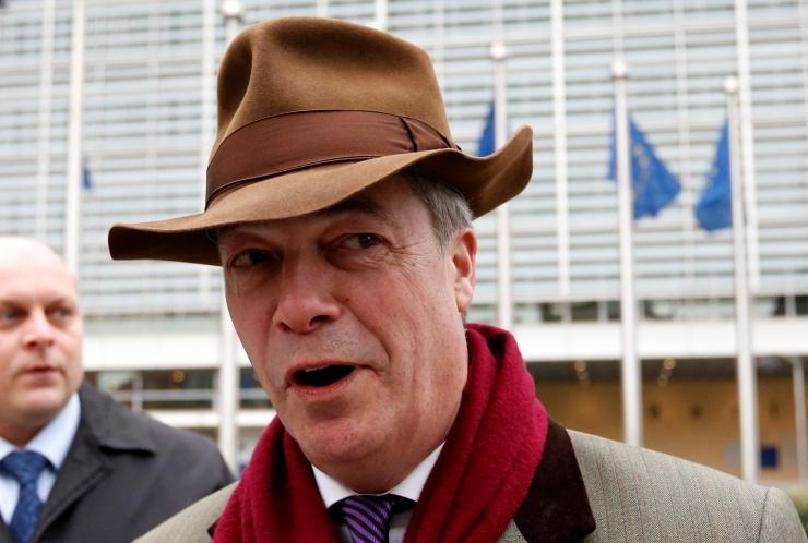 Farage: EL-i pealäbirääkija ei mõista Brexiti põhjusi