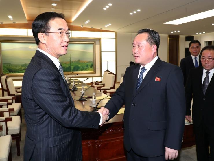 Koread leppisid kokku relvajõudude pingeleevenduskõnelustes