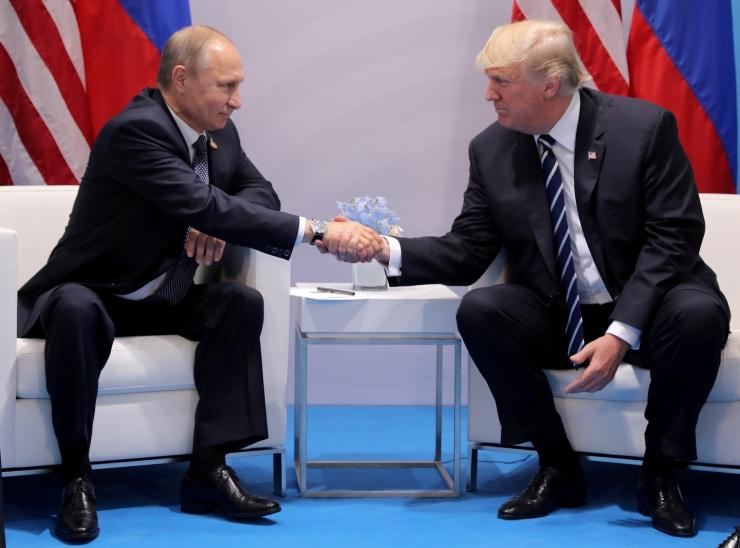USA meedia: Trumpi nõunik soovitas Putini rõõmustamiseks Baltimaadest USA väed välja tõmmata