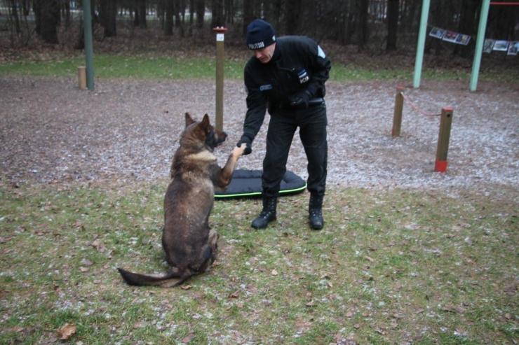 Teenekas politseikoer Como läks pidulikult pensionile