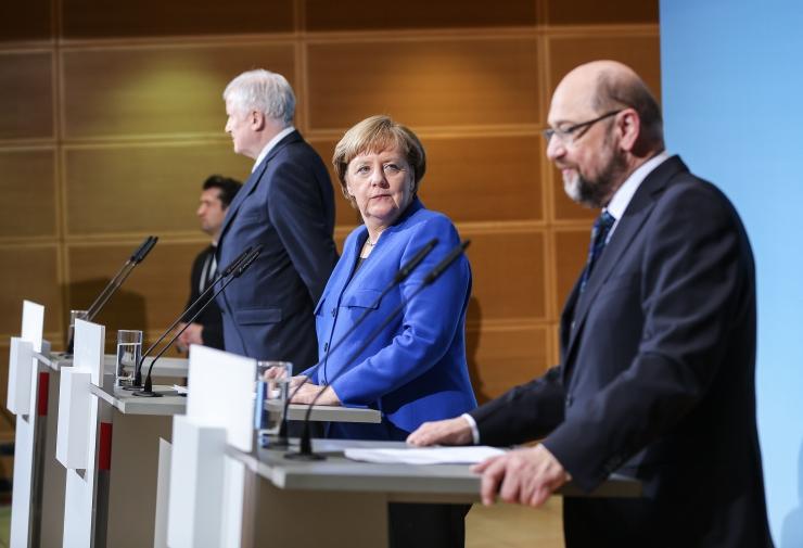 Saksa SPD juhatus kiitis heaks valitsuse moodustamise eelleppe