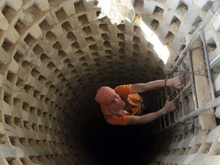 Iisrael teatas Gaza tunneli purustamisest