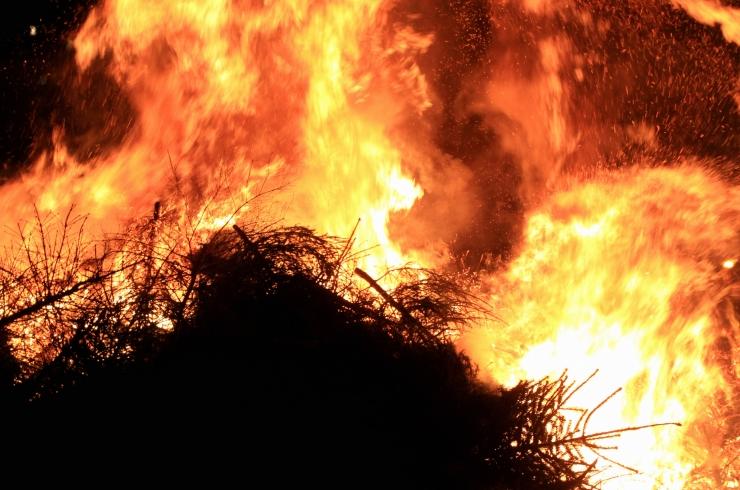Lasnamäe kutsub traditsioonilisele tuleskulptuuride etendusele