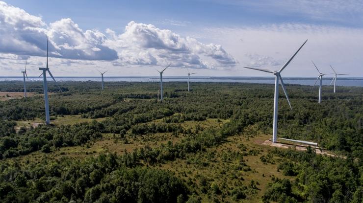 Taastuvenergia kattis mullu 16,8 protsenti elektri kogutarbimisest