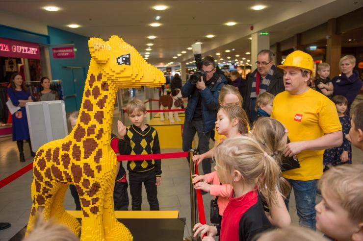FOTOD JA VIDEO! LEGO festivali näeb erakordseid kujusid!