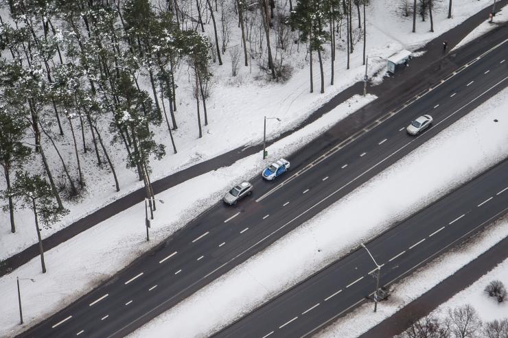 Liiklusolud on talviselt head