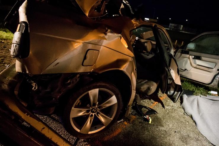 Liiklusõnnetustes sai vigastada kaheksa inimest