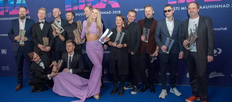 FOTOD JA VIDEO! Aasta naisartist on Liis Lemsalu, meesartist Erki Pärnoja!