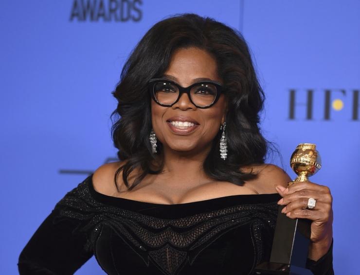 USA teletäht Oprah eitas presidendiks kandideerimise kavatsust