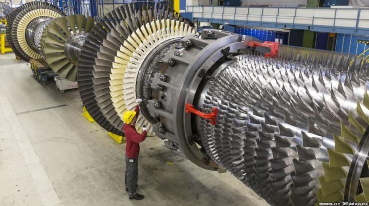 USA sanktsioneeris Siemensi turbiine Krimmi tarninud Vene ametnikke