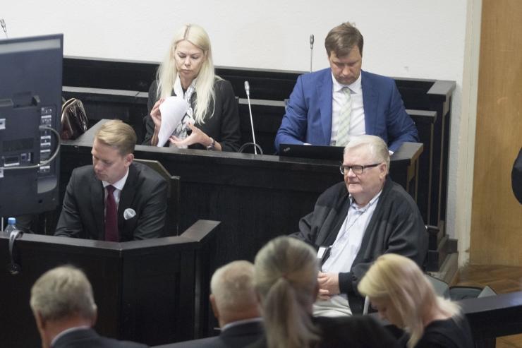 Peep Põdder räägib kohtule Savisaare kohtukõlblikkusest