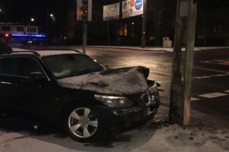 G4S turvatöötajad tabasid Tallinnas avarii teinud alkoholijoobes juhi