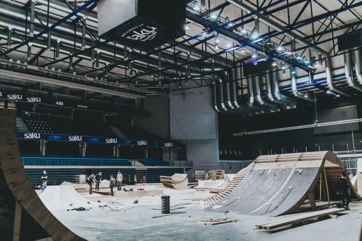 FOTOD! Vaata, kuidas kerkib Simple Sessioni võistluspark