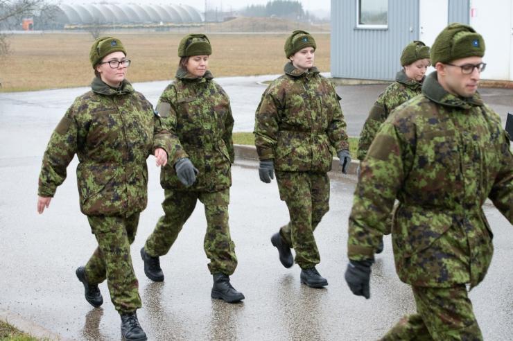 Eesti esindajad olid Balti sõjaväespordi mängudel edukad suusatamises
