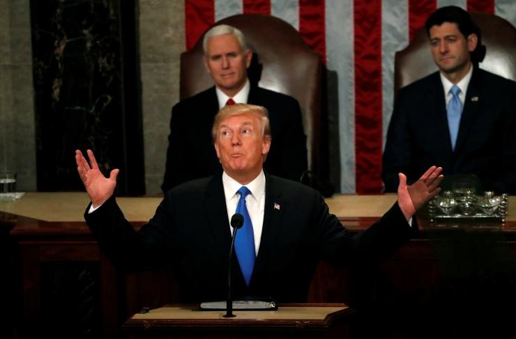 TRUMP AASTAKÕNES: Venemaa ja Hiina on ohuks USA majandusele ja väärtustele