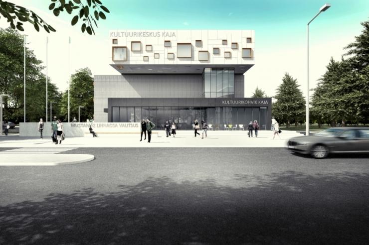 Mustamäele rajab uue kultuurikeskuse Nordlin Ehitus OÜ