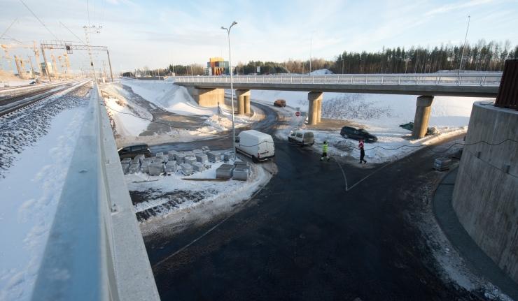 Liiklus Ülemiste ristmiku tunnelis Lasnamäe suunal on taastatud