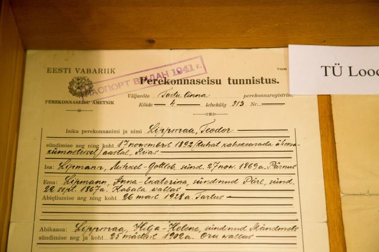 Akadeemik Teodor Lippmaa rändnäitus kolib Tallinnasse