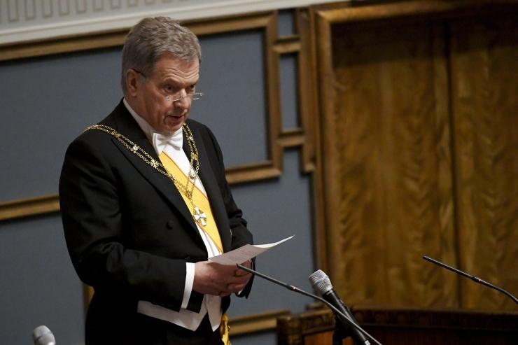 Niinistö: EL-i süvenev lõimumine võib tuua Soomele probleeme