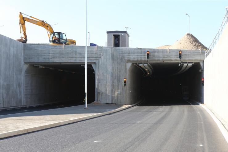 Homme suletakse kaheks tunniks Ülemiste tunneli Lasnamäe suund