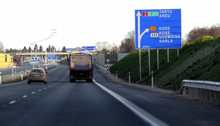 Maanteeamet esitas Tallinna - Tartu maantee lõigu hooldajale nõude